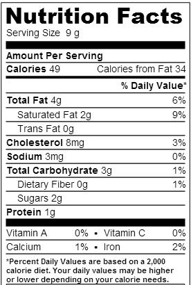 Nutrition Fudgy Brownies