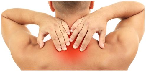Sports injury, neck