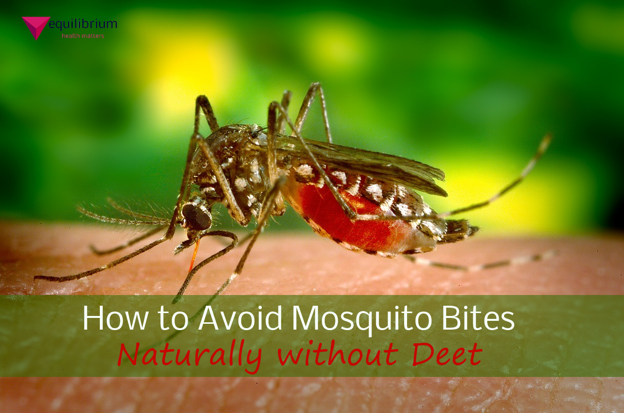The Natural Ways to Avoid Mosquito Bites Without Using Harmful Deet!
