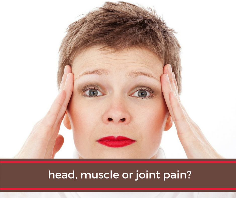 Head, Muscle or Joint Pain