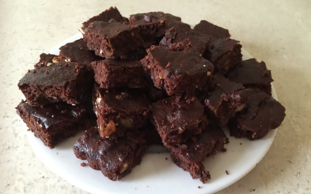 Guilt Free Fudgy Brownies with a Glycaemic Load of 1