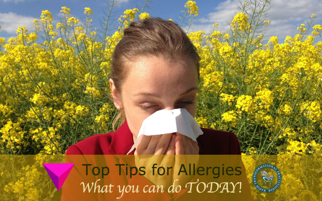Allergy Awareness Week – 6 Top Tips Today!
